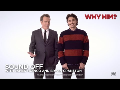 Why Him? ['Sound Off With James Franco And Bryan Cranston' In HD (1080p)]