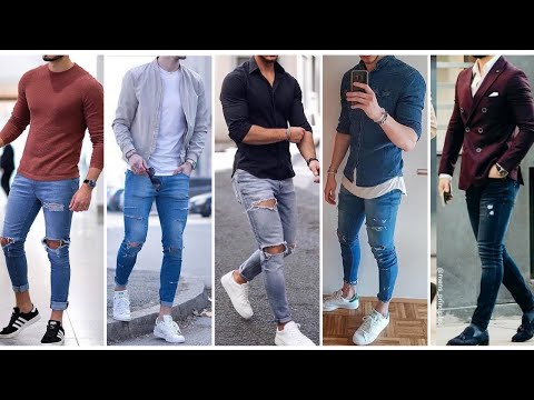 MOST Stylish Blue Jeans Outfits Men | Attractive Outfits For Blue Jeans | Men's Fashion & Style 2020