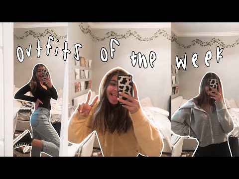What I Wear To School (outfits Of The Week!)