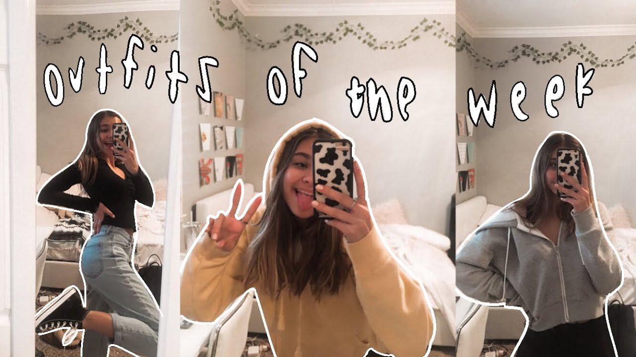 [VIDEO] - what i wear to school (outfits of the week!) 7
