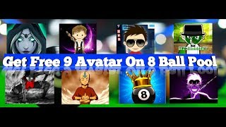 Get Free || New 8 Avatar For || 8 Ball Pool New Reward Link 👍👍