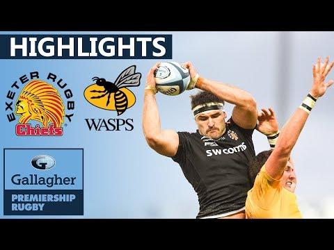 Exeter V Wasps HIGHLIGHTS | Huge Win At Sandy Park | Gallagher Premiership 2019/20