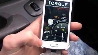сканер SCAN TOOL PRO для авто (ELM 327) OBD II  подключение к планшету с программой Torque