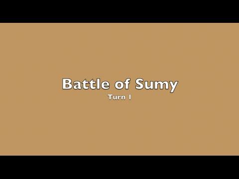 Barbarossa: Kiev to Rostov - Battle of Sumy - Turn 1 of 4