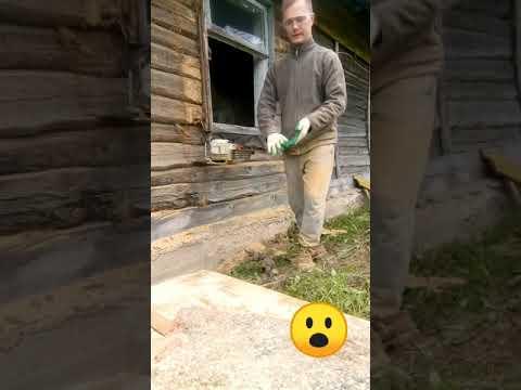 Установка окон в деревянном доме своими руками. Замена старых окон на даче.