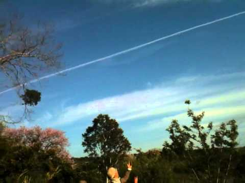 Chemtrails over East London, South Africa