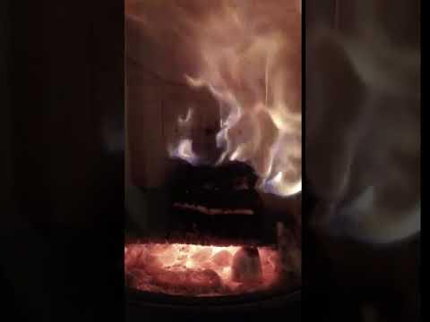 завораживающая игра огня печь WIKING LUMA 3 с autopilot