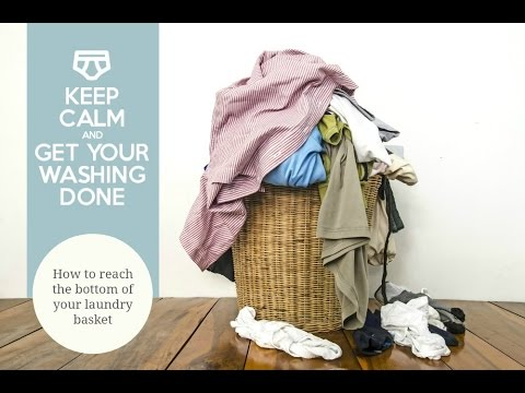 How to reach the bottom of your laundry basket