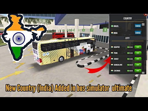 New Update! New Country (India🇮🇳) Have been Added in Bus Simulator: Ultimate from YouTube · Duration:  13 minutes 40 seconds