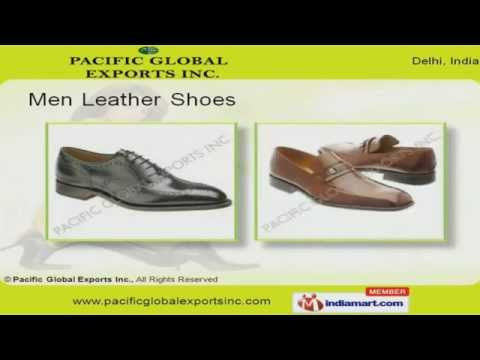 Leather Shoes by Pacific Global Exports Inc, New Delhi