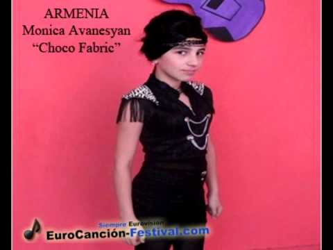 Eurovisión Junior 2013. Armenia: Monica Avanesyan -