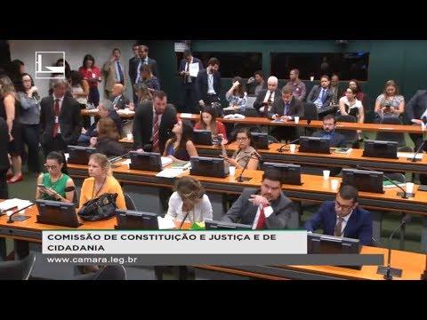 CONSTITUIÇÃO E JUSTIÇA E DE CIDADANIA - Reunião Deliberativa - 08/08/2018 - 10:58