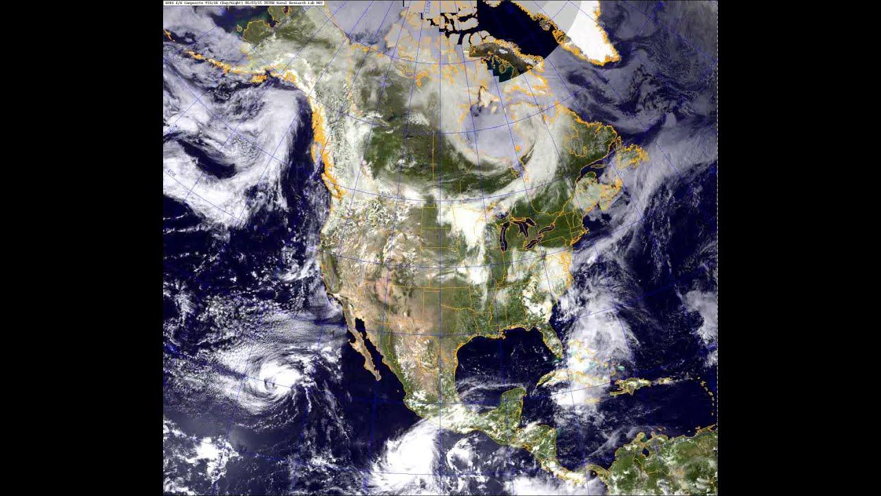 NexSat Satellite Imagery Of North America From To - North america satellite image