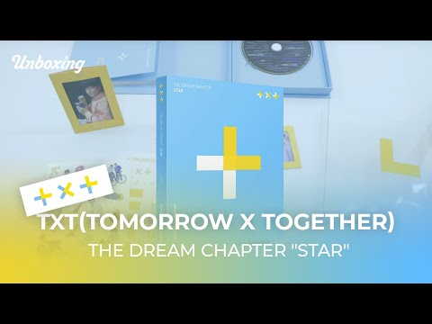 "Unboxing TXT(TOMORROW X TOGETHER) The Dream Chapter ""STAR"" トゥモローバイトゥギャザー 투모로우바이투게더 언박싱 Kpop Ktown4u"