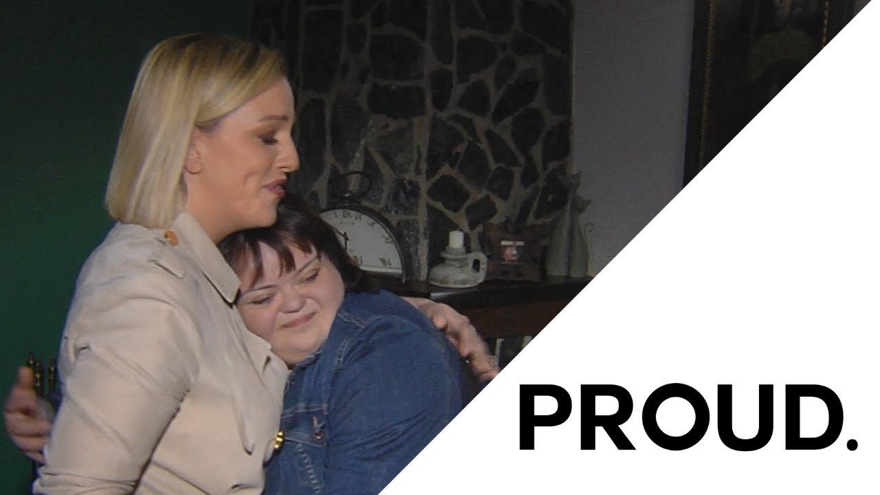 """Солзи и тон љубов - Тамара Тодевска ја изведе """"Proud"""" за девојка со Даунов синдром"""