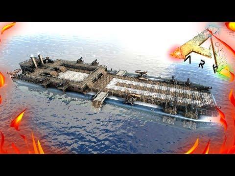 ARK: Survival Evolved - Первый ПЛОТ в АРК! ХАРДКОР #5