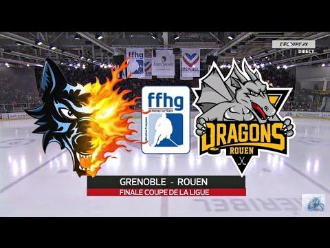 Finale Coupe de la Ligue 2015: Brûleurs de Loups Grenoble vs Dragons de Rouen