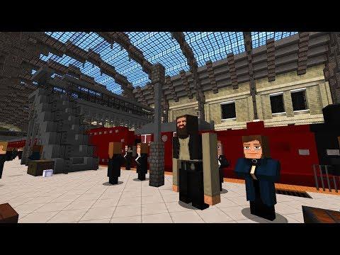Gleis 9 3/4 Aus Harry Potter & VIEL MEHR In Minecraft!