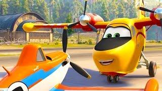 Мультфильм Самолеты: Огонь и вода | Вспоминаем мультики Дисней | Фрагмент | Cмотреть