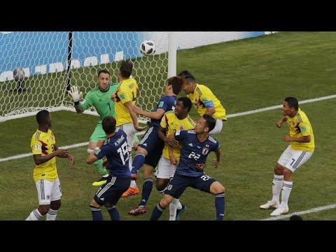 Japão vence a Colômbia e faz história no Mundial da Rússia | SBT Brasil (19/06/18)