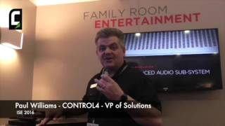 Control4 @ISE 2016 New Solutions for Home Automation