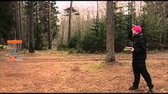 Haastattelussa Timo Ruuska Mikkelin frisbeegolf radan suunittelia