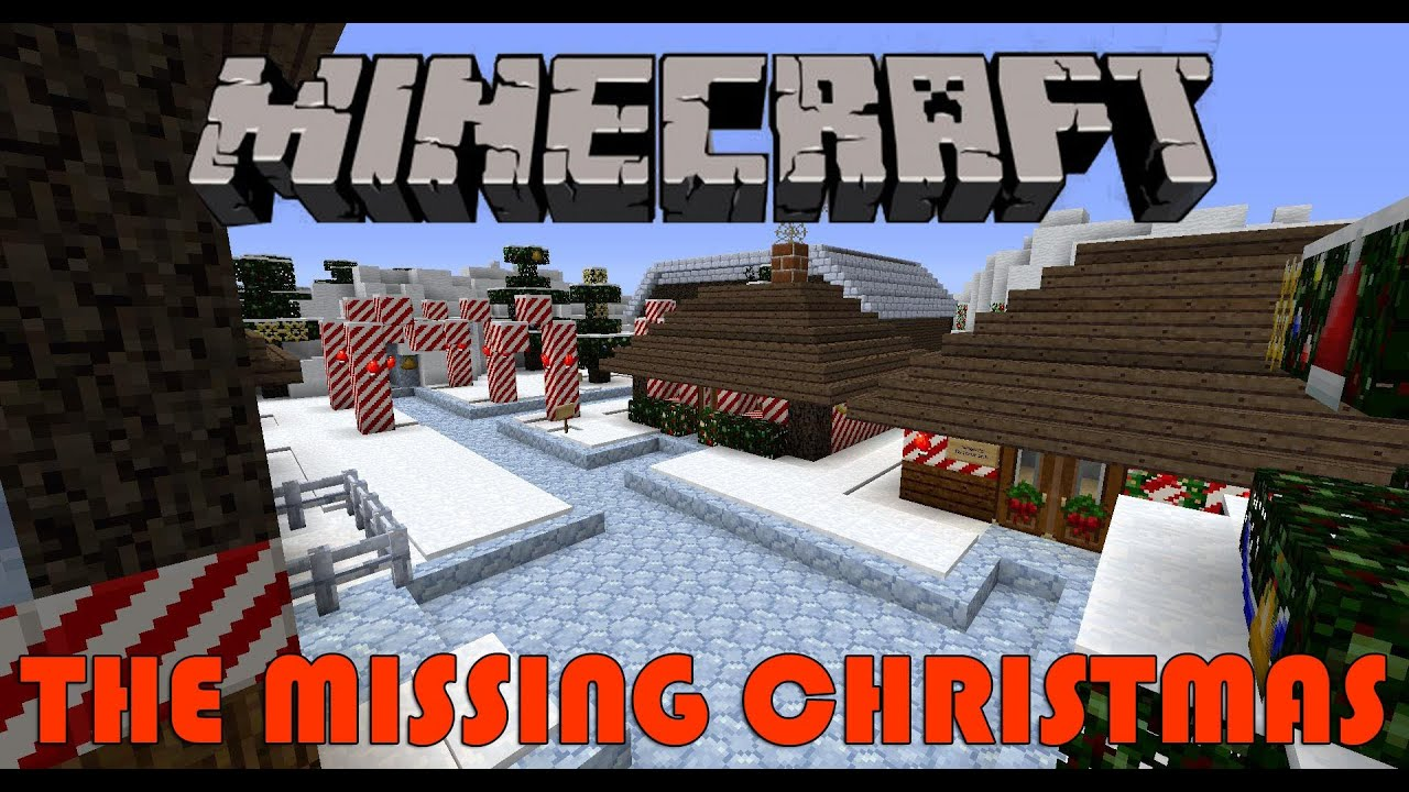 Minecraft: The Missing Christmas Adventure Map Part 1 - YouTube