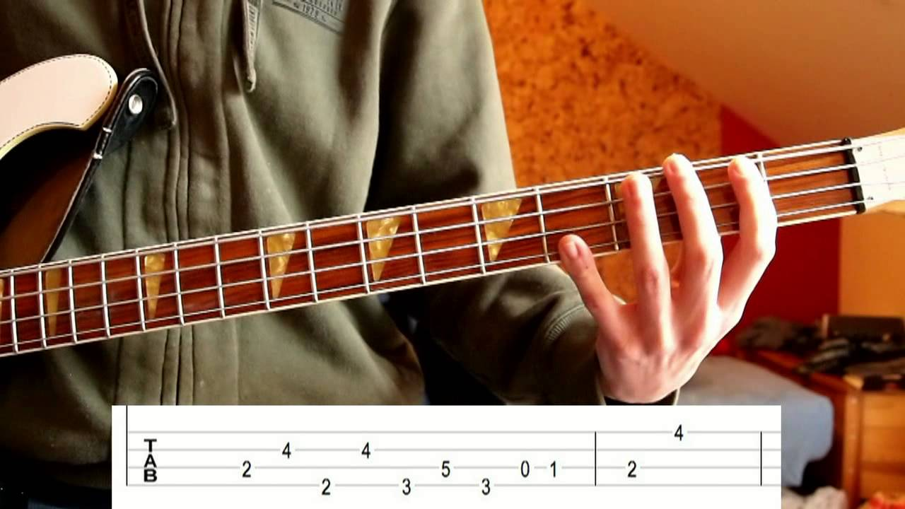 & The Doors - People Are Strange (Bass Tutorial with Tabs) - YouTube