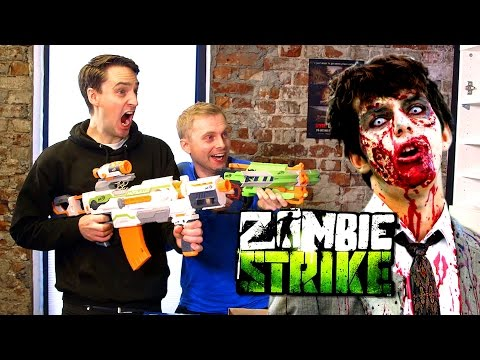 Zombie Survival Kit with Nerf Blasters