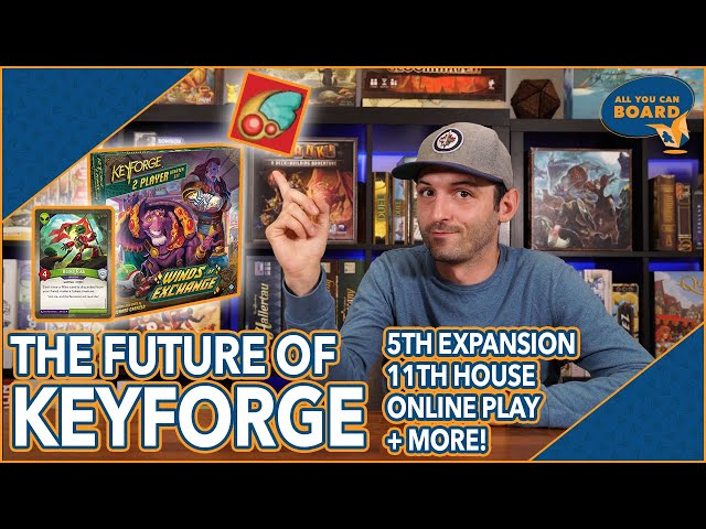 The Future of KEYFORGE   New Set, 11th House, New Card Reveal, Online Play, & Broken Algorithm