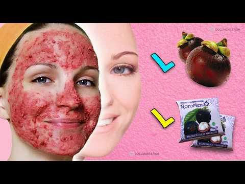 Cara memutihkan wajah secara alami menggunakan kulit buah manggis