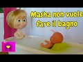 Barbie show tv Youtube Channel in Le avventure di Masha:(EP.12) MASHA NON VUOLE FARE IL BAGNO Video on realtimesubscriber.com