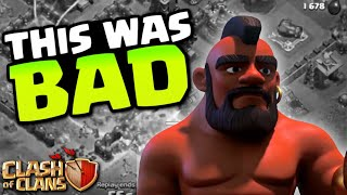 THIS WAS AN ABSOLUTE DISASTER! TH12 Farm to Max | Clash of Clans