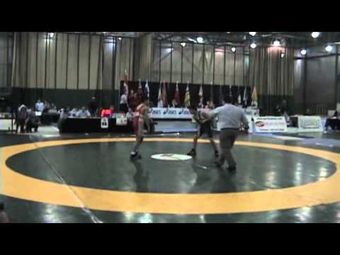 2009 Junior National Championships: 50 kg Greco Steven Takahashi vs. Tony Melgar