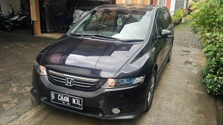 in depth tour honda odyssey absolute rb1 2004 indonesia