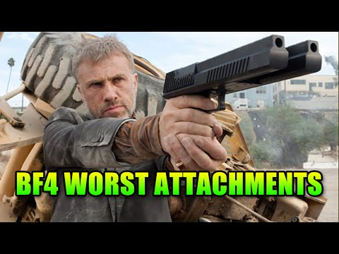 10 Worst Gun Attachments In Battlefield 4