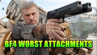 Repeat youtube video 10 Worst Gun Attachments In Battlefield 4
