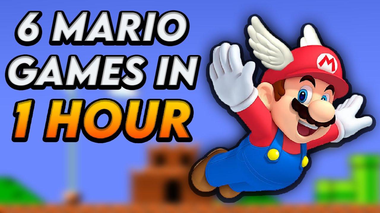 Is This The ULTIMATE Mario Speedrun?