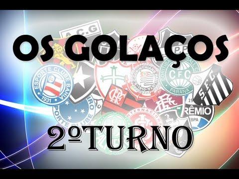 Campeonato Brasileiro 2012 - Os Golaços - 2ºTurno - MUSICA REMOVIDA