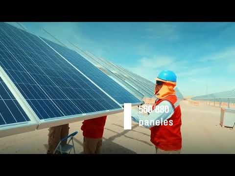 Energia Solar U Planta Solar El RUBÍ - Moquegua Perú