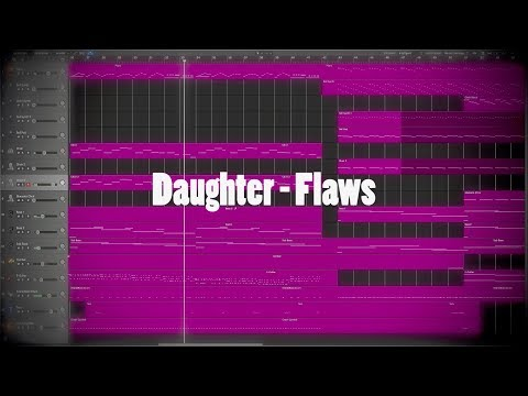 Daughter - Flaws (Logic Pro X Instrumental Cover)