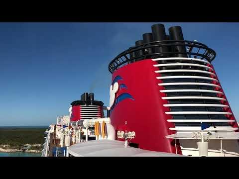 Disney Fantasy Horns Leaving Castaway Cay