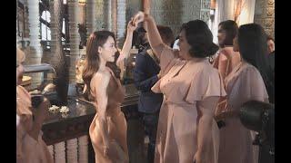 Nhã Phương nhảy chachacha, Trường Giang mua trà sữa chiều chuộng vợ ở đám cưới Hoàng Oanh