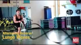 23 варианта упражнений с канатами от Men