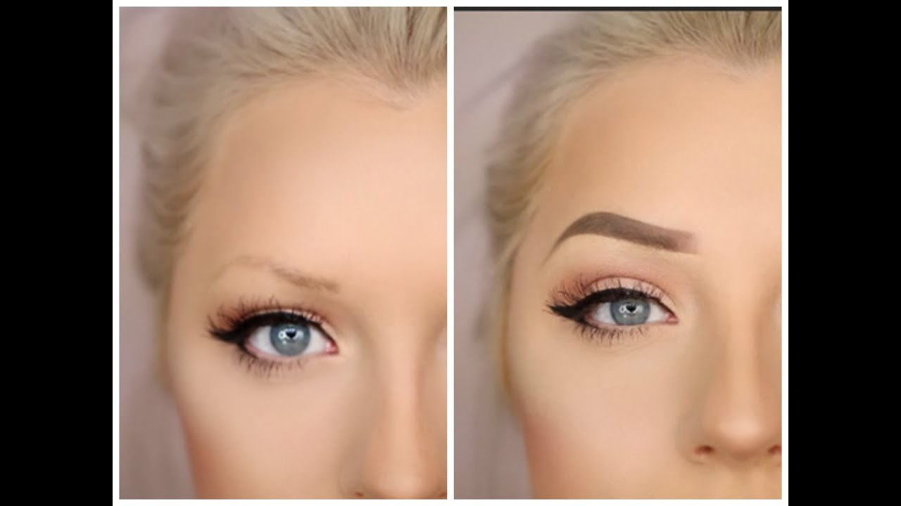 Updated Brow Routine For Sparse Brows Youtube