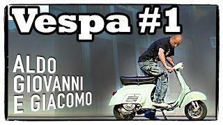 Anplagghed - La Vespa (1 di 3) | Aldo Giovanni e Giacomo