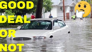Should I Buy A Water Damaged, Salvage Title Car?