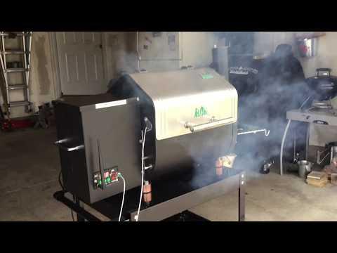 Green Mountain Grills - Davy Crockett - Reverse Seared Ribeye