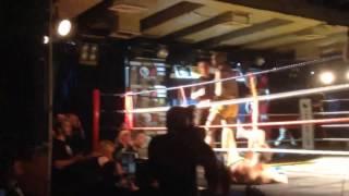 ISKA Thai Boxing British Title Fight Samuel Wilson