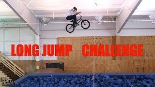BMX LONG JUMP CHALLENGE!